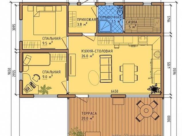 Дома проекты одноэтажные своими руками 85